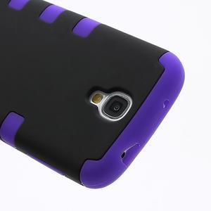 Extreme odolný gelový obal 2v1 na Samsung Galaxy S4 - fialový - 3