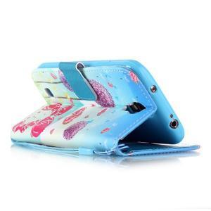 Knížkové koženkové pouzdro na Samsung Galaxy S4 - láska - 3