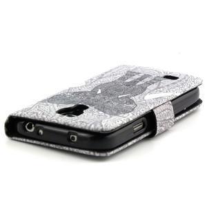 Pouzdro na mobil Samsung Galaxy S4 mini - slon - 3