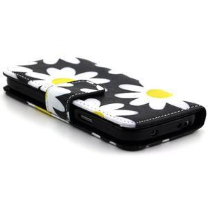 Pouzdro na mobil Samsung Galaxy S4 mini - sedmikrásky - 3