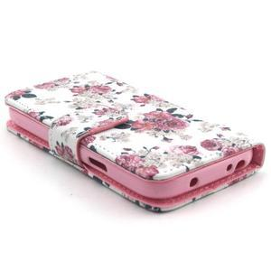 Pouzdro na mobil Samsung Galaxy S4 mini - květiny - 3