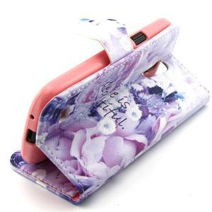 Diaryleather pouzdro na mobil Samsung Galaxy S4 mini - beatiful - 3
