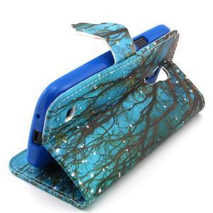 Diaryleather pouzdro na mobil Samsung Galaxy S4 mini - větve stromu - 3