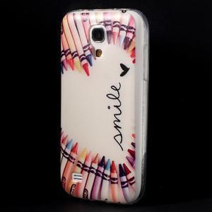 Gelový obal na mobil Samsung Galaxy S4 mini - život je krásný - 3