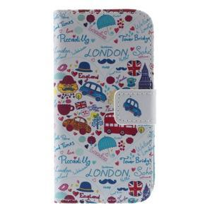 Style peněženkové pouzdro na Samsung Galaxy S4 mini - Londýn - 3