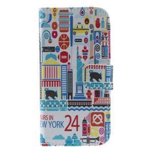 Style peněženkové pouzdro na Samsung Galaxy S4 mini - New York - 3
