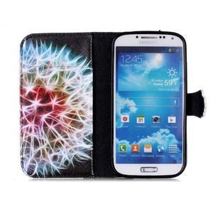 Emotive peněženkové pouzdro na Samsung Galaxy S4 mini - barevená pampeliška - 3