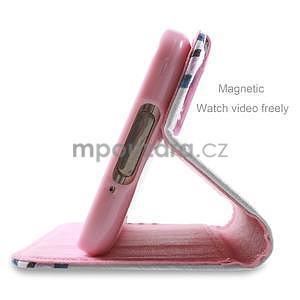 Ochranné pouzdro na mobil Samsung Galaxy S5 - květy - 3