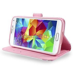 Ochranné pouzdro na mobil Samsung Galaxy S5 - kvetoucí větvička - 3