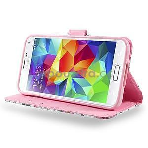 Ochranné pouzdro na mobil Samsung Galaxy S5 - květinová koláž - 3
