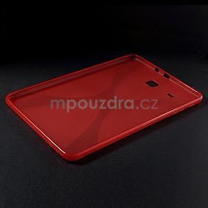 X-line gelové pouzdro na tablet Samsung Galaxy Tab E 9.6 - červené - 3