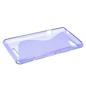 S-line gelový obal na Sony Xperia E3 - fialový - 3