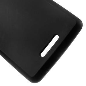Matný gelový obal na mobil Sony Xperia E3 - černý - 3