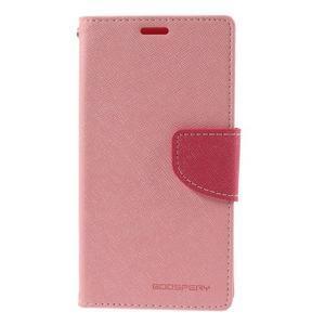 Richmercury pouzdro na mobil Sony Xperia E3 - růžové - 3