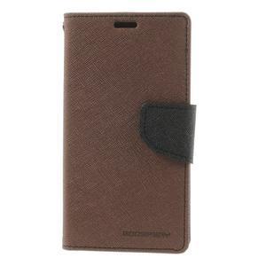 Richmercury pouzdro na mobil Sony Xperia E3 - hnědé - 3