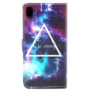 Pouzdro na mobil Sony Xperia M4 Aqua - triangl - 3