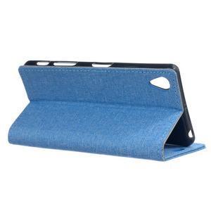 Texture pouzdro na mobil Sony Xperia X - modré - 3