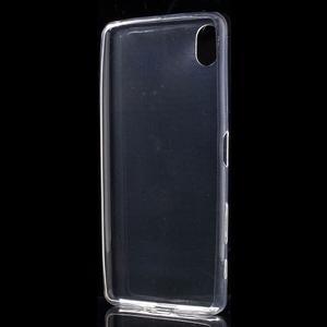 Ultratenký 0.5 mm gelový obal na Sony Xperia X - transparentní - 3