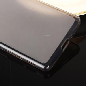 Oboustranně matně gelový obal na Soxy Xperia X - šedý - 3