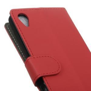 Walle peněženkové pouzdro na Sony Xperia X - červené - 3