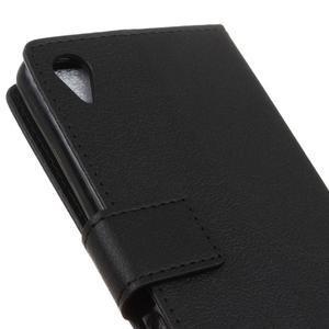 Grain koženkové pouzdro na Sony Xperia X - černé - 3
