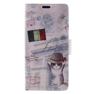 Emotive pouzdro na mobil Sony Xperia X Performance - koťátko - 3
