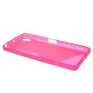 S-line gelový obal na mobil Sony Xperia X Performance - rose - 3