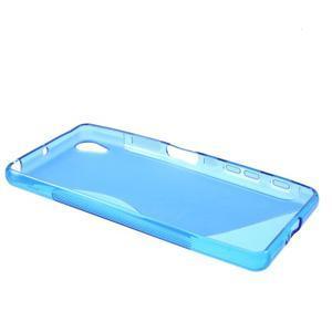 S-line gelový obal na mobil Sony Xperia X Performance - modrý - 3