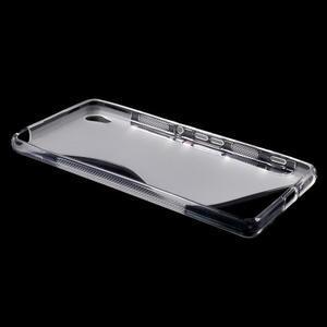 S-line gelový obal na mobil Sony Xperia XA - transparentní - 3