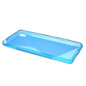 S-line gelový obal na mobil Sony Xperia XA - modrý - 3