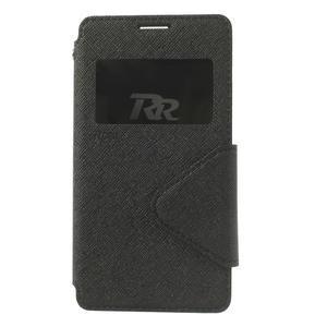 Okýnkové pouzdro na mobil Sony Xperia Z1 Compact - černé - 3