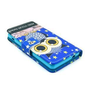 Pouzdro na mobil Sony Xperia Z1 Compact - sova s vousem - 3