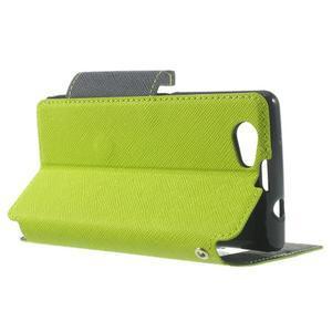 Okýnkové pouzdro na mobil Sony Xperia Z1 Compact - zelené - 3