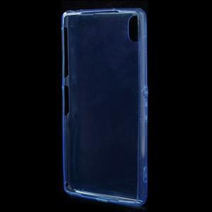 Ultratenký slim gelový obal na mobil Sony Xperia Z2 - modrý - 3