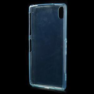 Ultratenký slim gelový obal na mobil Sony Xperia Z2 - cyan - 3