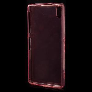 Ultratenký slim gelový obal na mobil Sony Xperia Z2 - červený - 3