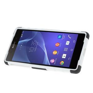 Outdoor odolný kryt na mobil Sony Xperia Z2 - bílý - 3