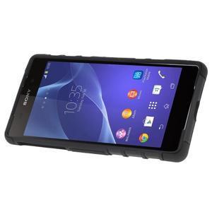 Outdoor odolný kryt na mobil Sony Xperia Z2 - černý - 3