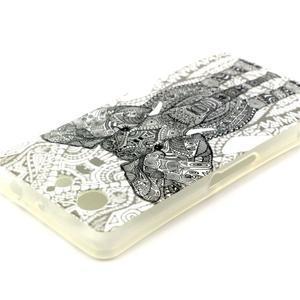 Softy gelový obal na Sony Xperia Z3 Compact - slon - 3