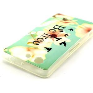 Softy gelový obal na Sony Xperia Z3 Compact - be free - 3