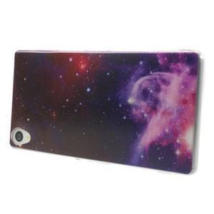 Ultratenký gelový obal na mobil Sony Xperia Z3 - galaxie - 3