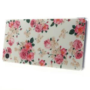 Gelový obal na mobil Sony Xperia Z3 - květiny - 3