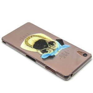 Gelový obal na mobil Sony Xperia Z3 - mops - 3