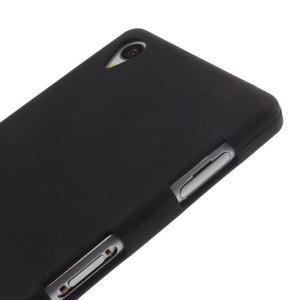 Silikonový obal na mobil Sony Xperia Z3 - černý - 3