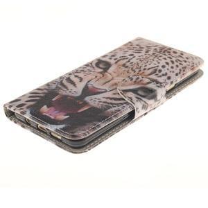 Patt peněženkové pouzdro na Samsung Galaxy A3 (2016) - leopard se zoubky - 3