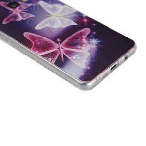 Ultratenký slim obal na mobil Samsung Galaxy A3 (2016) - kouzelní motýlci - 3