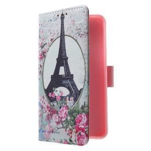 Fun peněženkové pouzdro na Samsung Galaxy A3 (2016) - Eiffelova věž - 3