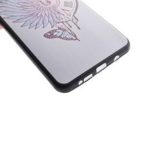 Terry gelový obal na Samsung Galaxy A3 (2016) - antické hodiny - 3
