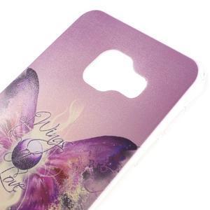Gelový obal na mobil Samsung Galaxy A3 (2016) - křídla lásky - 3