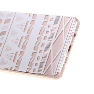 Miffs ultratenký gelový obal na Samsung Galaxy A3 (2016) - geo tvary - 3